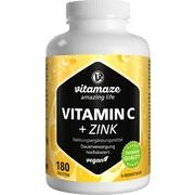 VITAMIN C 1000 mg hochdosiert+Zink vegan Tabletten