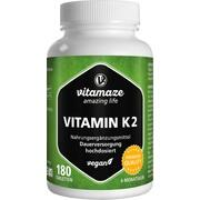 VITAMIN K2 200 \m63g hochdosiert vegan Tabletten