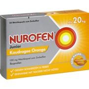 NUROFEN Junior Kaudragee Orange 100 mg