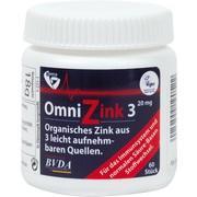 OMNIZINK 3 Tabletten