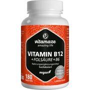 VITAMIN B12 1.000 \m63g hochdos.+B9+B6 vegan Tabl.