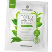 DERMASEL Totes Meer Tuchmaske grüner Tee