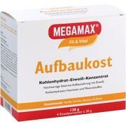 MEGAMAX Aufbaukost 4 Geschmacksr.Einzelport.Pulver