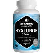 HYALURONSÄURE 300 mg hochdosiert vegan Kapseln