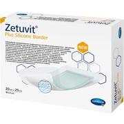 ZETUVIT Plus Silicone Border steril 20x25 cm