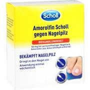 AMOROLFIN Scholl gegen Nagelpilz Behandlungsset