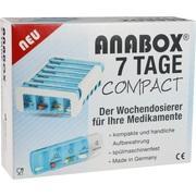 ANABOX Compact 7 Tage Wochendosierer blau/weiß