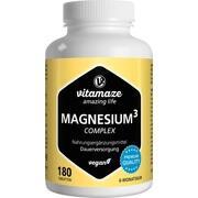 MAGNESIUM 350 mg Komplex Citrat/Oxid/Carbon.vegan
