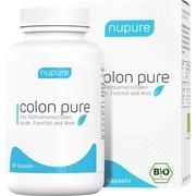 NUPURE colon pure Darmreinigung Detox Bio Kapseln