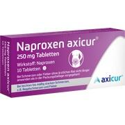 NAPROXEN axicur 250 mg Tabletten