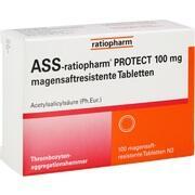 ASS-ratiopharm PROTECT 100 mg magensaftr.Tabletten
