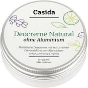 DEO CREME ohne Aluminium natural