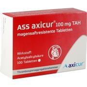 ASS axicur 100 mg TAH magensaftres.Tabletten