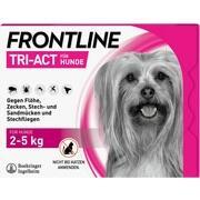 FRONTLINE Tri-Act Lsg.z.Auftropfen Hunde 2-5 kg