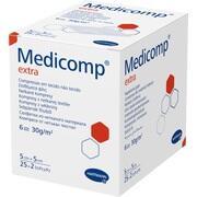MEDICOMP extra Vlieskomp.steril 5x5 cm 6lagig