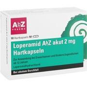 LOPERAMID AbZ akut 2 mg Hartkapseln