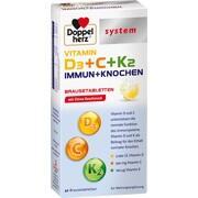 DOPPELHERZ Vitamin D3+C+K2 Immun+Knochen syst.BTA