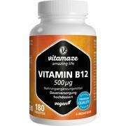 VITAMIN B12 500 μg hochdosiert vegan Tabletten