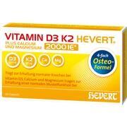 VITAMIN D3 K2 Hevert plus Ca Mg 2.000 I.E./2 Kaps.