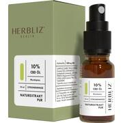 HERBLIZ CBD Mundspray 10% Zitronenminze