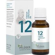 BIOCHEMIE Pflüger 12 Calcium sulfuricum D 6 Glob.