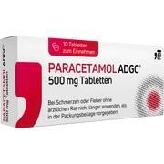PARACETAMOL ADGC 500 mg Tabletten