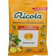 RICOLA o.Z.Beutel Ingwer Orangenminze Bonbons