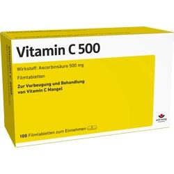 00652257, VITAMIN C 500, 100 ST