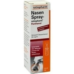 01970611, Nasenspray-ratiopharm Panthenol, 20 ML