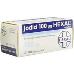 03106130, Jodid 100 Hexal, 100 ST