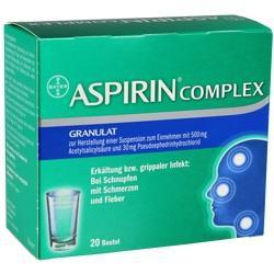 04114918, ASPIRIN COMPLEX Beutel, 20 ST