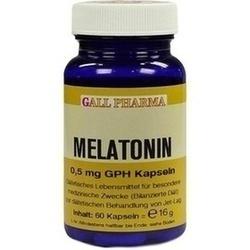 06572915, Melatonin 0.5mg GPH Kapseln, 60 ST