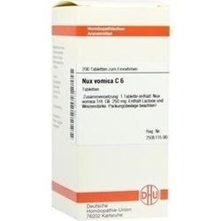 NUX Vomica C 6 Tabletten