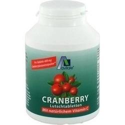 Cranberry Lutschtabletten