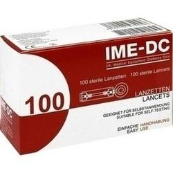 IME DC Lancetten/Nadeln für Stechhilfegerät