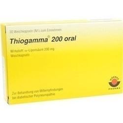 Thiogamma 200 Oral Weichkapseln