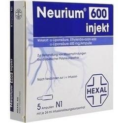 Neurium 600 Injekt Infusionslösungskonzentrat