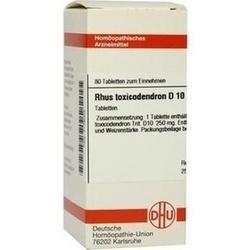Rhus Toxicodendron D 10 Tabletten