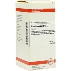 Rhus Toxicodendron C 7 Tabletten
