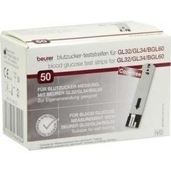 Beurer Gl32/Gl34/Bgl60 Blutzuckerteststreifen
