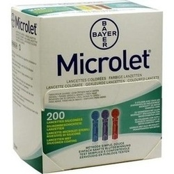Microlet Lanzetten Farbig