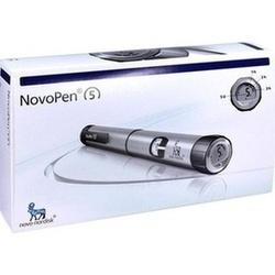 Novopen 5 Injektionsgerät Silber