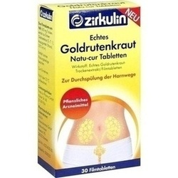 Echtes Goldrutenkraut Natu-cur 600 mg Filmtabletten