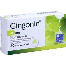 GINGONIN 40 mg Hartkapseln