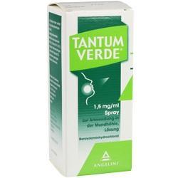 11104004, Tantum Verde 1.5mg/ml Spr.z.Anwend. i.d. Mundhöhle, 30 ML