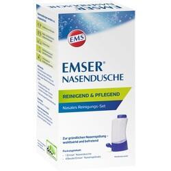 12615385, EMSER Nasendusche mit 4 Btl. Nasenspülsalz, 1 ST