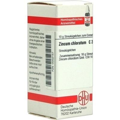 ZINCUM CHLORATUM C 30 Globuli