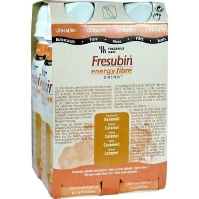 FRESUBIN ENERGY Fibre DRINK Karamell Trinkflasche