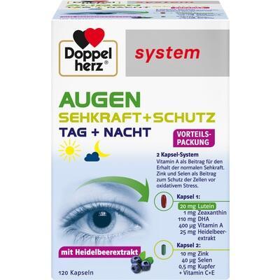 DOPPELHERZ Augen Sehkraft+Schutz system Kapseln