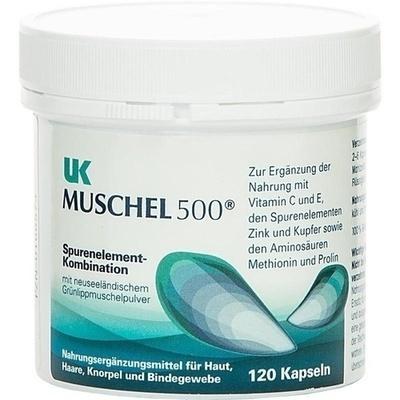 UK Muschel 500 Kapseln